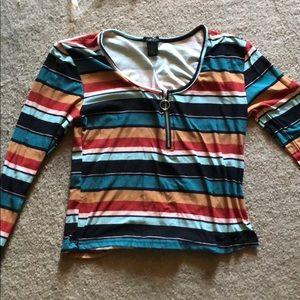 Rue21 striped shirt